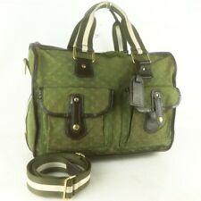 Auth LOUIS VUITTON SAC MARY KATE 48H Hand Bag Monogram Mini M42342 Khaki JUNK