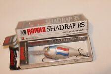 Rapala Shad rap-rs-Especial Edition-con bandera países-nuevo