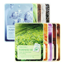 [TONYMOLY] Pureness 100 Mask Sheet (21ml x 5sheets) - Korea Cosmetic