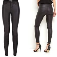 New Look Leather High Rise Jeans for Women