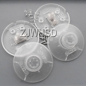 2 Inline In-line Lamp Light Power Push Foot Switch ON/OFF Control Lighting Clear