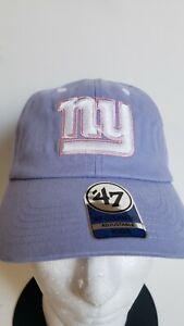 🔥🔥OFFICIAL NEW YORK GIANTS NFL '47 CLEAN UP KIDS ADJUSTABLE Hat🏈🏈