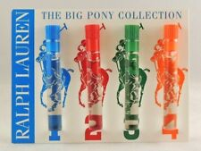 RALPH LAUREN POLO BIG PONY MEN #1 #2 #3 #4 .8ml .027oz x 1 EACH SAMPLE TRY ALL 4