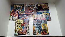 4 dc /1 marvel comics warrior #39#40 detective #605 hulk  speedfreak