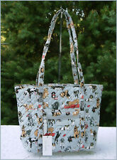 VERA BRADLEY Best In Show Small Vera Tote 🐾 Limited Edition - New with Tag