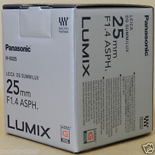 PANASONIC H-X025 LEICA DG SUMMILUX 25mm/F1.4 ASPH Lens from Japan