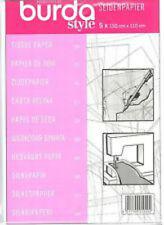 BURDA STYLE Dressmakers TAILORS Dressmaking tessuto tracing PAPER 150 x 110 cm