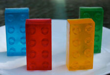 Kids soap x 6 - large brick shape. Party favours, novelty gift, stocking filler