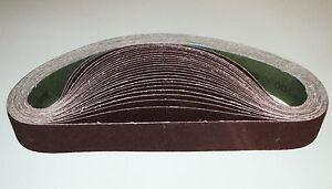 Schleifband Gewebe 50 x 1020 mm P100 Bandschleifer Messerschleifer Schleifgerät