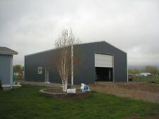 Custom Metal Garage Shed Barn Design Package