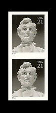 US 4860a Abraham Lincoln 21c imperf NDC vert pair MNH 2014