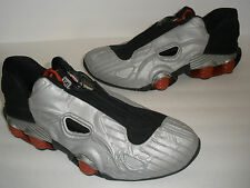 NIKE 2001 SHOX XT  SILVER BLACK RED US 11 EUR 45 UK 10 DEADSTOCK VINTAGE