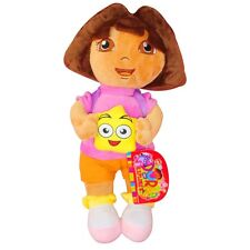 32CM DORA THE EXPLORER PLUSH DOLL KIDS BABY GIRL SOFT BEAR STUFFED ANIMALS TOY