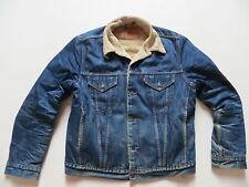 Levi's® Jacke Jeansjacke Teddy Fell gefüttert Gr. L, Vintage Denim eingetragen !