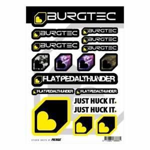 Burgtec Sticker Sheet