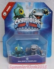 Gill Runt & Thumpling Skylanders Trap Team Mini Duo Pack Figuren Neu OVP USA
