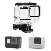 Waterproof Case Housing Part for Gopro Hero 7 Silver White Underwater Protection