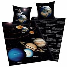 Planets Space Solar System Duvet Cover in German (FREE P+P)