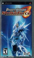 Dynasty Warriors: Strikeforce (Sony PSP, 2009) Factory Sealed
