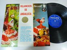"""Villancicos de Andalucia Campanas de Navidad 1964 - LP Vinilo 12"""" VG/VG"""
