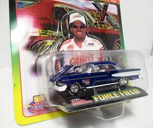 Racing Champions John Force Field NHRA Drag Pro Street 1958 58 Ford Edsel Blue