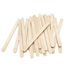 200 Pcs Craft Sticks Ice Cream Sticks Natural Wood Popsicle Craft Sticks 4.5 Ice