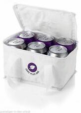 Kühltasche klein & handlich für 6 Dosen  Kühlbox weiss