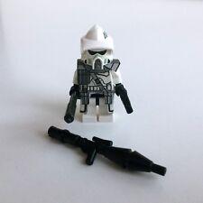Lego Star Wars Custom der Clone soldat + lance-roquettes + CUSTOM armure/Accessoires