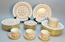 Mid-Century ROYAL CROWN DERBY China for 12   Rougemont   59 Pieces  Exc. Cdn