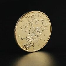 Tooth Fairy Commemorative Coin Children Baby Teeth Growth Gifts Souvenir Crafts
