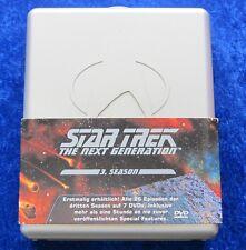 Star Trek The next Generation Staffel 3, DVD Hardbox Hart Box Season
