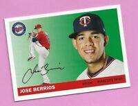 2020 Topps Archives Jose Berrios Photo Variation #55 Minnesota Twins