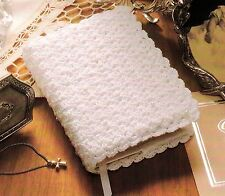 QUICK Baby's Bible Cover/Decor/Crochet Pattern INSTRUCTIONS ONLY