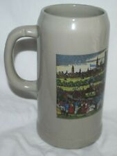 "Munich, Germany, Oktoberfest stein, 8"" tall, Munchen, made in West Germany"