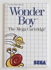 Wonder Boy FRIDGE MAGNET (2.5 x 3.5 inches) video game box