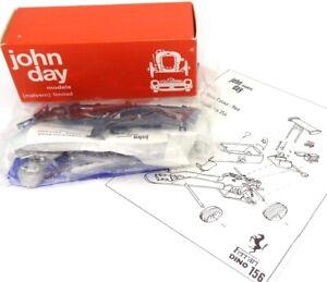JOHN DAY NO. 254 1/43 WHITE METAL KIT FERRARI DINO 156 F2 RACE CAR  -NEW - RARE!