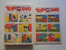 TOPOLINO GIORNALE 1/53 COMPLETA 1932, 1933 RISTAMPA ANASTATICA PIU' CHE OTTIMO
