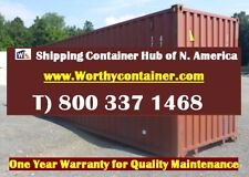 40 Cargo Worthy Shipping Container 40ft Storage Container In Charleston Sc