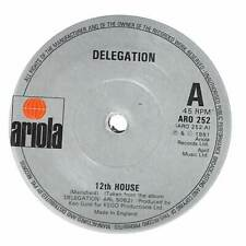 "Delegation - 12th House - 7"" Record Single"