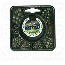 NGT 8 WAY SPILT SHOT COARSE CARP FISHING WEIGHTS NON TOXIC LEADS WEIGHT NEW