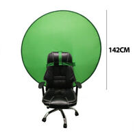 Round Green Backdrop Background Screen Portable 4.65ft for Photo Video Studio