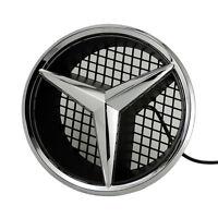 Illuminé LED lumière Emblème Logo Grille LED Badge Avant pour Mercedes Benz NEUF