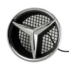Illuminated LED Light Emblem Logo Grid LED Badge Front Light For Mercedes Benz