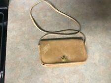 Vintage Tan Leather Classic COACH 6509 Purse Made in New York City (CON10)