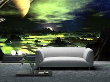 Lime Green Alien Landscape Wall Mural Photo Wallpaper GIANT DECOR Paper Poster