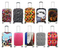 "Elastic 20"" 24"" 28"" Suitcase Protector Travel Luggage Cover Bag Anti-scratch New"