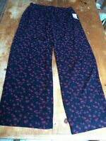 NWT Michael Kors Womens Lightweight Pull On Stretch Waist Pants Sz Large $98 B24