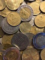 100 Gramm Restmünzen/Umlaufmünzen Uruguay