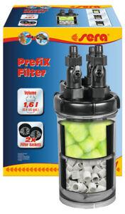 Sera Prefix Filter Vorfilter 1,6L für Aquarien Biofilter Aquariumfilter Aquarium