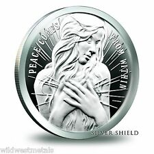 Silver Shield 2015 Peace Comes From Within 1 oz Proof - Heidi Wastweet - SBSS